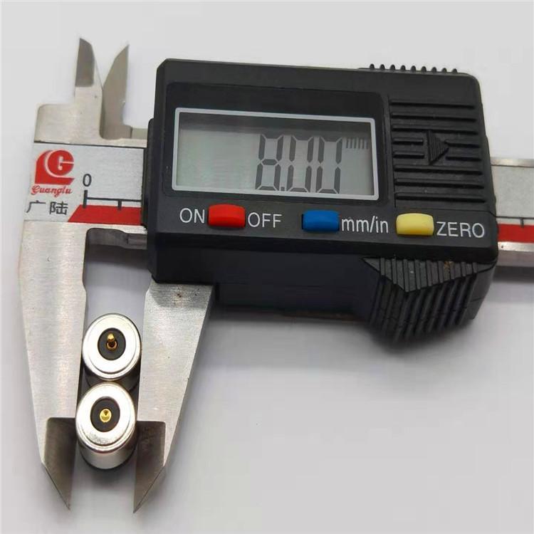 发热服饰一针磁吸充电线 圆形磁吸温控线 磁吸头电源线 2