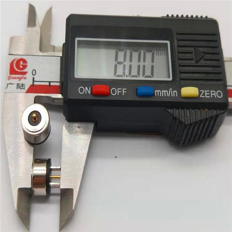 发热服饰一针磁吸充电线 圆形磁吸温控线 磁吸头电源线 3