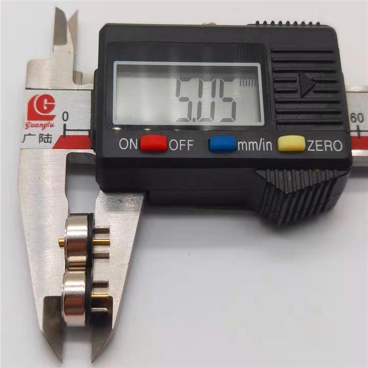 发热服饰一针磁吸充电线 圆形磁吸温控线 磁吸头电源线 4
