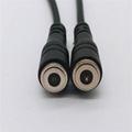 供应移动电源2P磁力充电线 吸附式直头磁吸线对吸接头端子线 3