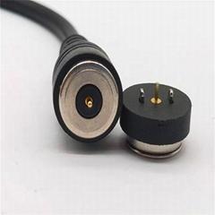 磁吸LED手电筒充电线磁吸连接器智能穿戴发热服医疗保健