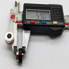 温控磁吸线定制开关时间眼罩护颈护膝石墨烯发热控制磁铁式充电