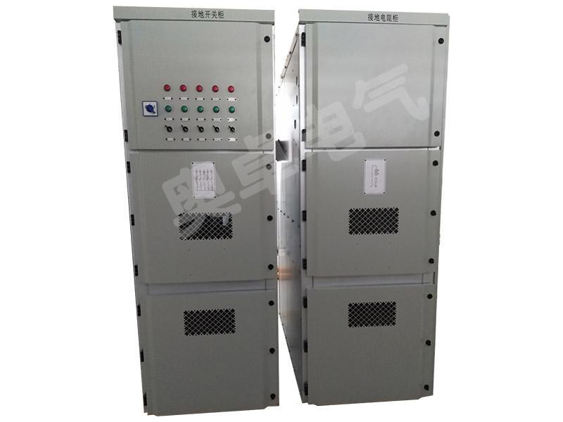 AZ-FNR发电机中性点接地电阻柜 1