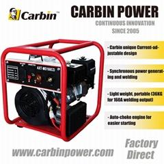 160A / 300A Auto-choke Gasoline / Diesel (Current-adjustable) Welder Generator