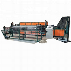 Used automatic top quality chain link wire mesh fence machine with factory price