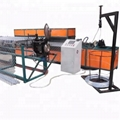 Automatic chain link fence machine with high production capacity