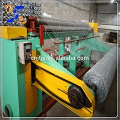 Poultry fence hexagonal wire mesh machine reverse twisted type