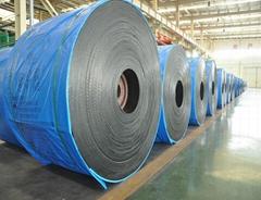 Factory direct sale rubber flat conveyor belt