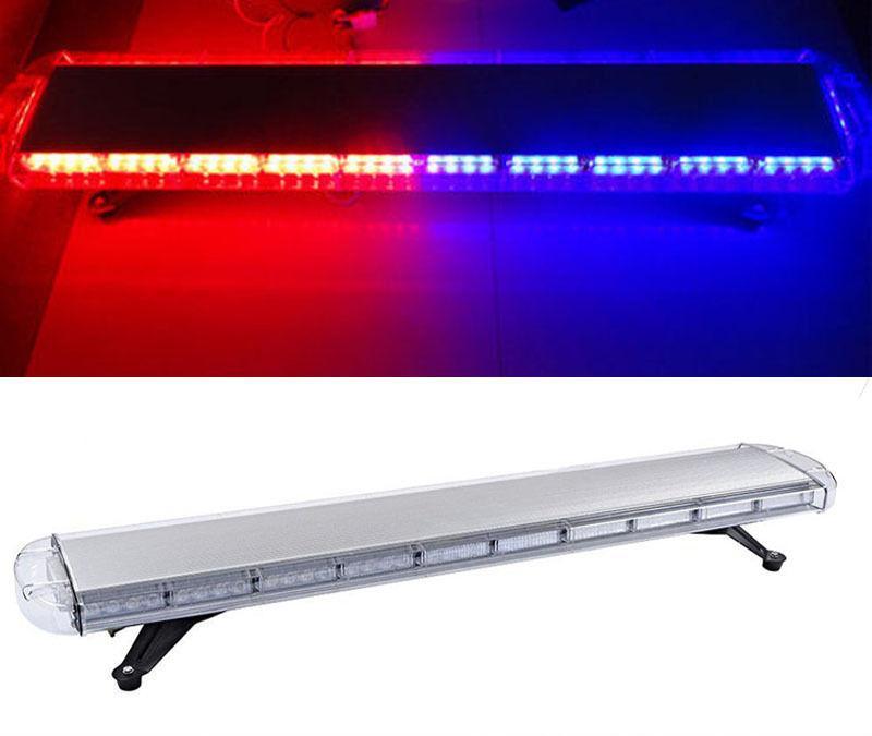 "High Power 88W 47"" 88LED Emergency Warning Beacon car truck strobe light Bar 4"