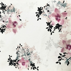Fabric Textile Supplier Best Selling Flower Print Fabric