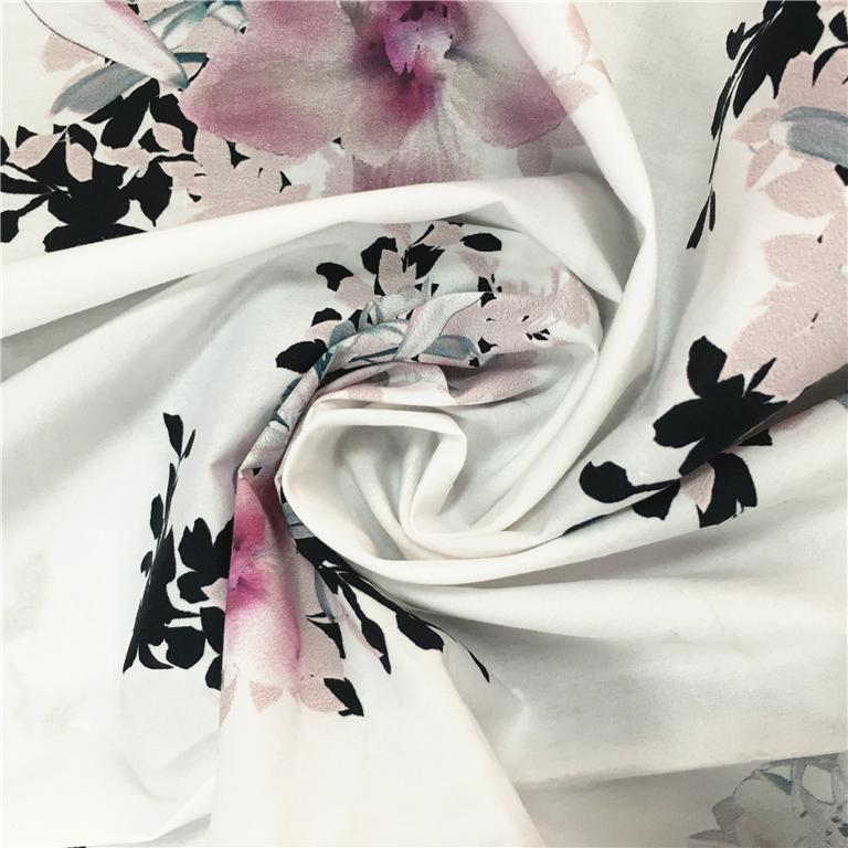 Fabric Textile Supplier Best Selling Flower Print Fabric 5