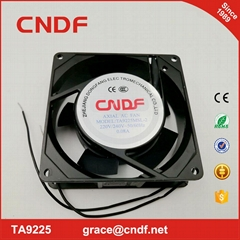 passed CE EMC LVD NOM chinese supplier 92x92x25mm ac axial fan