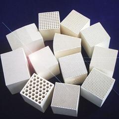 Honeycomb ceramic regenerator