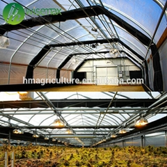 3 Layer breathable shading curtain film covering whole blackout greenhouse