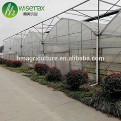 Hot galvanized steel frame agricultural tomato greenhouse tent for sale