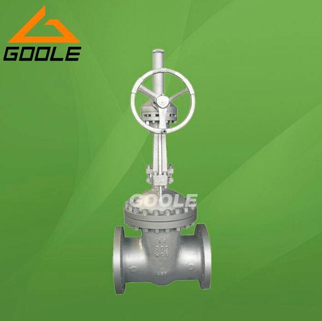 API Cast Steel Gate Va  e (GAZ41H) 1