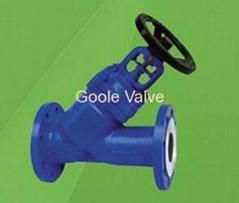 DIN Y Type Globe Valve