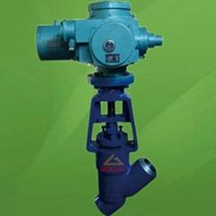 ANSI Pressure Seal Motorized Y Type Globe Va  e (GAJ965)