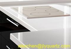 Kimria quartz  special promotion pure white cheap countertops