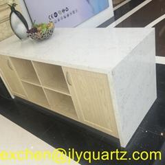 Kimria quartz  2018 new arrival cararra quartz table top