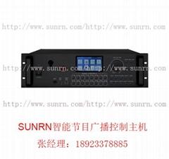 珠海三潤SR-KZZJ-CXJ 智能節目廣播控制主機