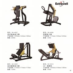 挂片式大黃蜂系列坐式推胸練習器廠家直銷