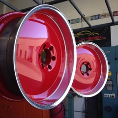 high glossy red color powder coating