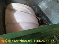 calcium carbonate filling masterbatch granulator
