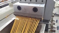 PVC cable material granulator