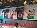 商业墙面彩绘
