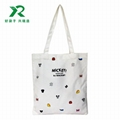 2018 new design canvas bag with tote