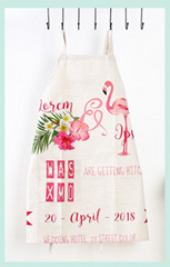 Wholesale made in China high quality durable cotton cheap custom aprons