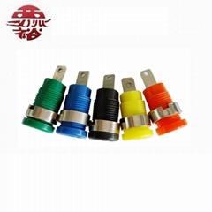 five colour large stainless steel binding post screw