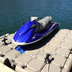 Used jet ski floating po