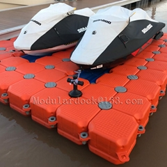 Jet ski floating dock pr