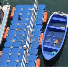 Plastic floating dock bl