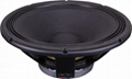 High end speaker 18 inch professional