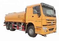 Howo Capacity 12-20m3 Water Tank Truck Water Transport Tanker Truck