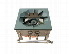 Cast Iron With Stainless Steel Gas stove