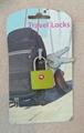 Travel lock with key