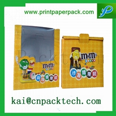 Customized Paper Packaging Box for Cellphone Case with Small Window
