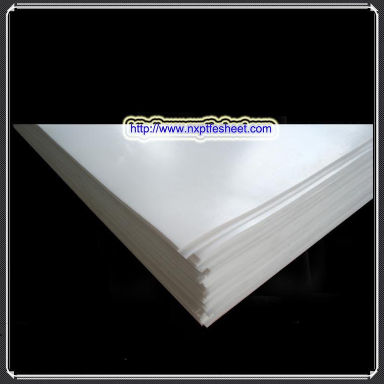 建筑钢结构用防腐耐磨抗震铁氟龙聚四氟乙烯楼梯板 2