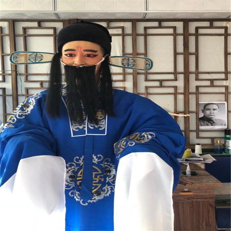 戏曲文化蜡像馆戏曲人物蜡像厂家直销 5