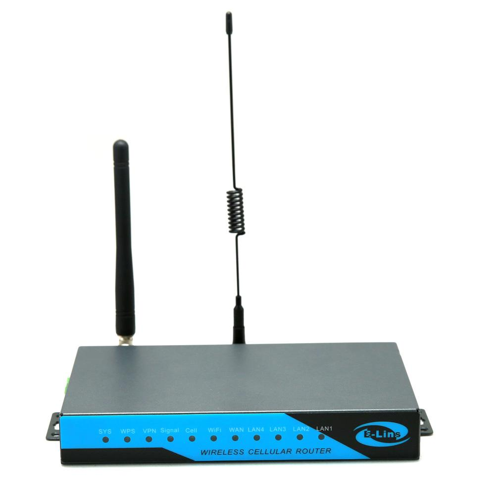 E-Lins 3G HSDPA Router Wireless Industrial Sim Card Slot WiFi GPS VPN  1