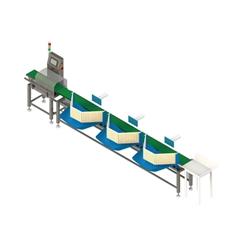 FXTP4021F3大果類專用重量分選機