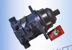 Rexroth A6ve107HD1d Hydraulic Motor in Stock for Excavator Paving Machinery