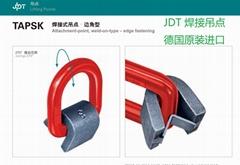 德国JDT焊接吊环螺栓紧固式吊点TAPG-S吊耳