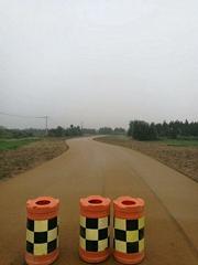 合肥水泥路面改造70#彩色瀝青路面