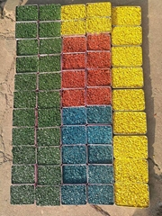 銀川彩色路面噴塗工藝