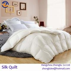 100% Natural Mulberry Silk Quilt